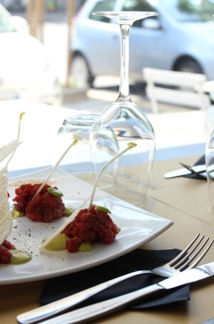 cena gourmet a milano - meat art